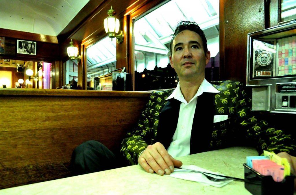 Tommy Barrick at Tastee Diner