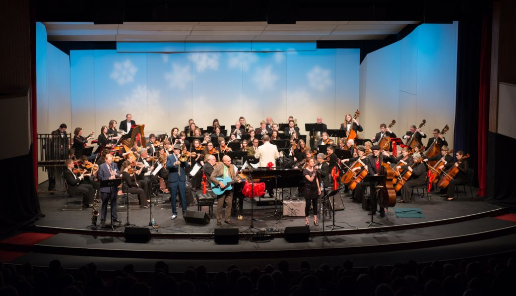 Chaise Lounge with the Central Wisconsin Symphony Orchestra
